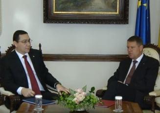 Ponta il ataca pe Iohannis dupa ce s-a dezis de Antene: Se refera doar la noi, iobagii, sau si la el - mosierul?