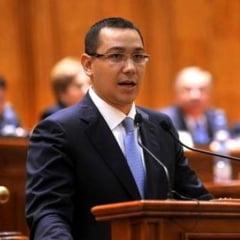 Ponta il avertizeaza pe Dragnea: Sa nu paraziteze dezbaterile la motiune cu propaganda sinistra a luptei cu statul paralel