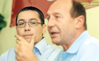 Ponta il umileste pe Basescu (Opinii)