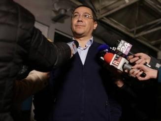 Ponta il vede pe Dragnea premier si spera sa asiste la sfarsitul politic al lui Basescu