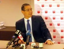 Ponta intrebat de pensiile parlamentarilor: Nu sunt deputat, sunt presedintele PSD, prim-ministru