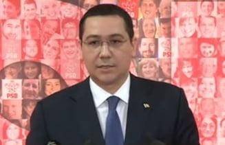 """Ponta l-a luat pe """"nu"""" in brate: Nimic despre cazul Sova sau modificari la Codul de Procedura Penala dorite de PSD (Video)"""