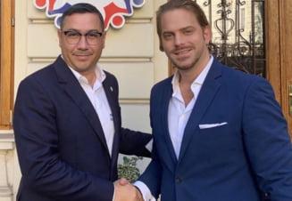 Ponta l-a primit in PRO Romania pe Ilan Laufer, care a luat 0,1% voturi la primaria Bucuresti