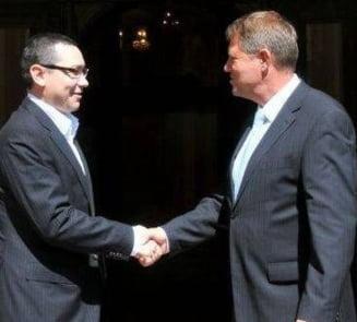 Ponta l-ar invinge pe Iohannis la prezidentiale - Sondaj CSCI