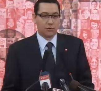 Ponta le cere din nou parlamentarilor Puterii sa demisioneze ca sa se faca anticipate