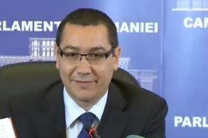 Ponta neaga plagiatul cu noi acuzatii: Basescu mi-a inscenat asta. De ce sa demisionez? (Video)