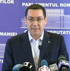Ponta nu vrea sa fie sef la Camera Deputatilor: Dar in viata nu faci doar ce iti doresti!