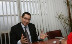 Ponta pastreaza si biroul de la Guvern: Cel de la MApN, pentru intalnirile la nivel inalt (Video)