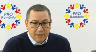 Ponta raspunde atacurilor lui Dragnea: E un tip fricos, las, isteric. Se teme pentru libertatea lui si pentru banii furati