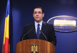 Ponta reactioneaza la declaratiile lui Basescu: Locul meritat ar fi langa Udrea