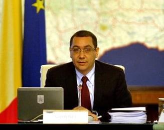 Ponta recunoaste ca exista erori in programul de guvernare