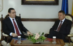 "Ponta s-a dus la Cotroceni - Ieri era ca ""surda-n hora"", azi Iohannis e demn de respect"