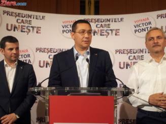 Ponta s-a inscris in partidul lui Daniel Constantin si il ataca pe Dragnea: N-are ce functii sa ne dea, n-are cu ce sa ne ameninte