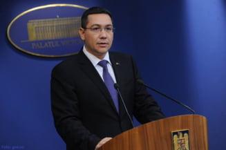 Ponta s-a intors la Bucuresti cu o aeronava Fly Dubai - surse