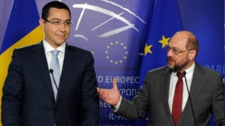 Ponta se intalneste vineri seara cu Martin Schulz (Video)