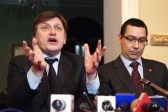 Ponta si Antonescu, acuzati ca au vrut sa cumpere societatea civila