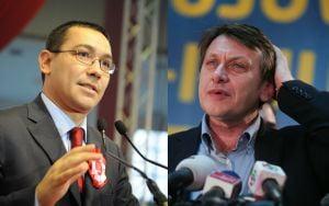 Ponta si Antonescu vor schimbarea Guvernului Boc, dar nu au alternative