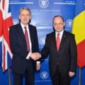 Ponta si Aurescu, discutii cu ministrul britanic de Externe despre libera circulatie, UE si Rusia