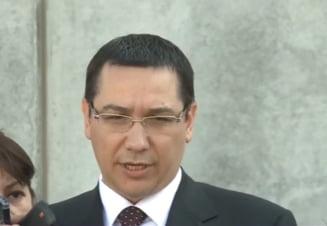 Ponta si Basescu, discutii la Cotroceni dupa juramantul lui Oprea