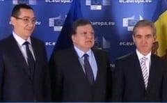 Ponta si Leanca, la Bruxelles: Barroso anunta ca UE ridica vizele pentru moldoveni (Video)