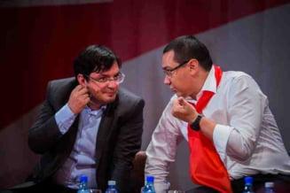 Ponta si-a lansat noul partid cu un mesaj despre analfabetii politic: Vrea oameni care stiu sa vorbeasca romana si engleza