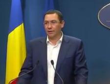 """Ponta spune ca Guvernul e """"pe pozitii"""": El se asigura ca Romania nu pierde bani, Carmen Dan se ocupa de inundatii"""