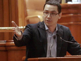 Ponta spune ca PD-L e responsabil de adoptarea tacita a legiii regionalizarii