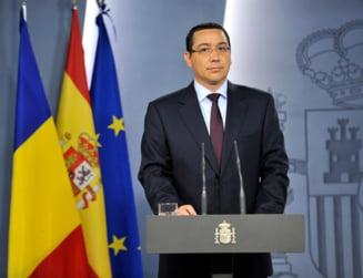 Ponta spune ca e pregatit sa conduca interimar Ministerul Transporturilor
