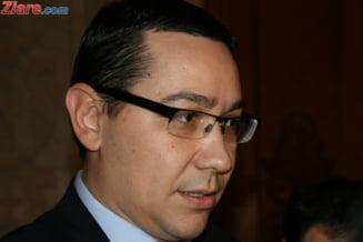 Ponta spune ca va prezenta bugetul pe 2013 doar Parlamentului