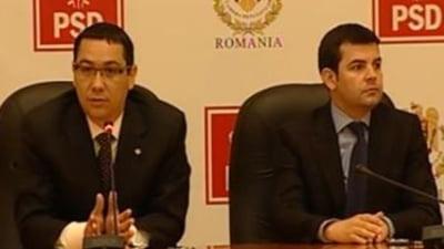 Ponta suna mobilizarea deputatilor USL pentru motiune si o ataca iar pe Roberta