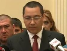 Ponta suspenda campania pentru europarlamentare si pleaca la inundatii in Mehedinti