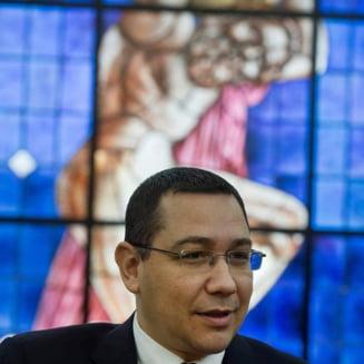 Ponta sustine ca OUG 13 se intoarce: Va fi data in februarie sau martie pentru a i se rezolva problema lui Dragnea