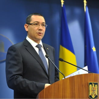 Ponta sustine ca vineri nu se impart functii de ministri - ce se discuta
