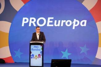 "Ponta taxeaza PSD, dupa ce s-a ""predat"" la Bruxelles: E gretos cum dau din coada si se gudura pe langa cei pe care ii injurau"