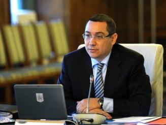 Ponta trage un semnal de alarma: Avem mai putini bani - Urmeaza taieri la toate ministerele