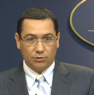 Ponta vede luni cum stam cu banii UE si-l primeste pe Leanca la Guvern