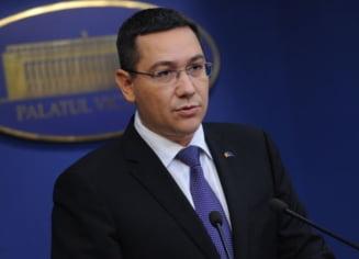 Ponta voteaza motiunea de cenzura: Guvernul trebuie pedepsit!