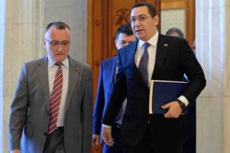 Ponta vrea alt guvern in Romania, pana la sfarsitul anului