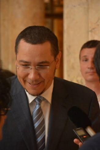 Ponta vrea cu orice pret ruperea coalitiei? (Opinii)