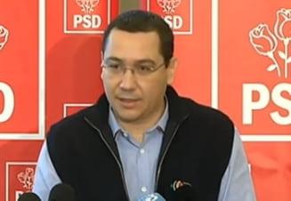 Ponta vrea directori de servicii secrete nepolitici, pentru ca nu se stie cine e in opozitie