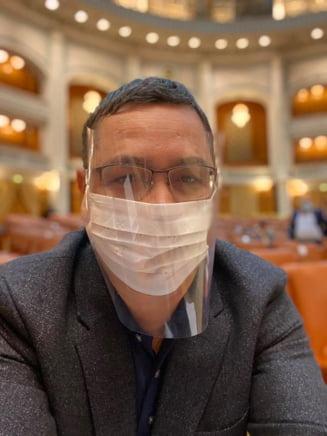 Ponta vrea incetarea de drept a starii de alerta si propune Parlamentului adoptarea unei hotarari