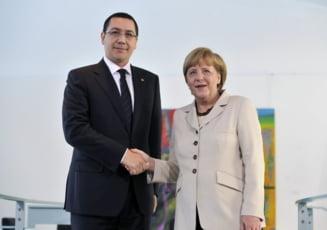 Ponta vrea invatamant profesional dupa model german
