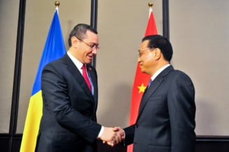 Ponta vrea promovarea imbunatatirii relatiei UE-China si investitii in Romania