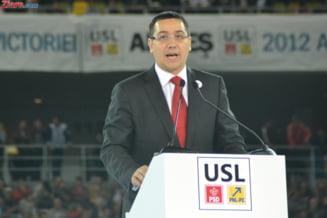 Ponta vrea salarii intre 1.000 si 7.000 de lei pentru bugetari (Video)