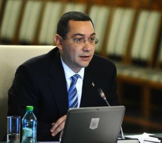 Ponta vrea sistem special de vot in diaspora si cel mult 300 de parlamentari in 2015