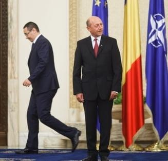 Ponta vrea un presedinte al linistii. Basescu: Ati vazut vreun hot care fura cu zgomot?