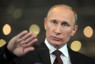 Popularitatea lui Putin a scazut, mai putin de un sfert dintre rusi l-ar mai vota
