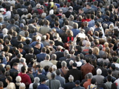 Populatia Romaniei a scazut in decembrie cu 9.423 locuitori