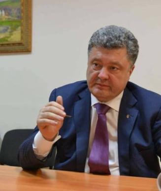 Porosenko: Putin a pierdut competitia economica si acum vrea sa destabilizeze lumea