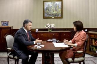 Porosenko: Rusia are la granita cu Ucraina un numar record de trupe